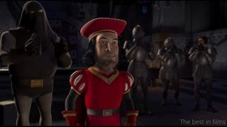 Мультфильм Шрек. Лорд Фаркуад выбирает принцессу.