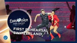 Switzerland 🇨🇭 - Luca Hänni - She Got Me - First Rehearsal - Eurovision 2019