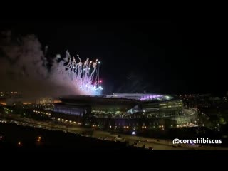 the ending fireworks.. this is beautiful....