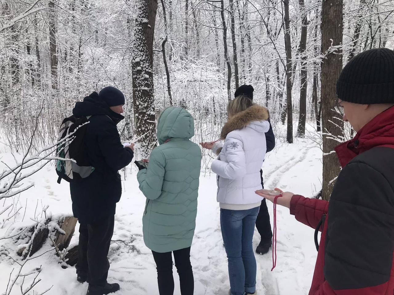 В последний день зимы, «РЫСЬ - Арзамас» провели очередное обучение для новичков.