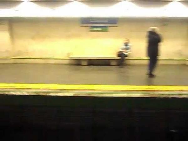 Metro de Madrid Línea 6 Anden 1 Saínz de Baranda O'Donnell