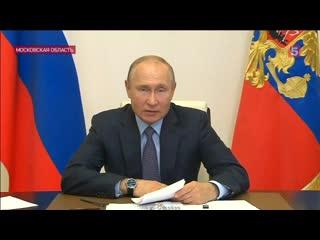 Путин внес культуру в план восстановления страны после пандемии