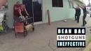 Police Shooting 8 Bean Bag Shotguns