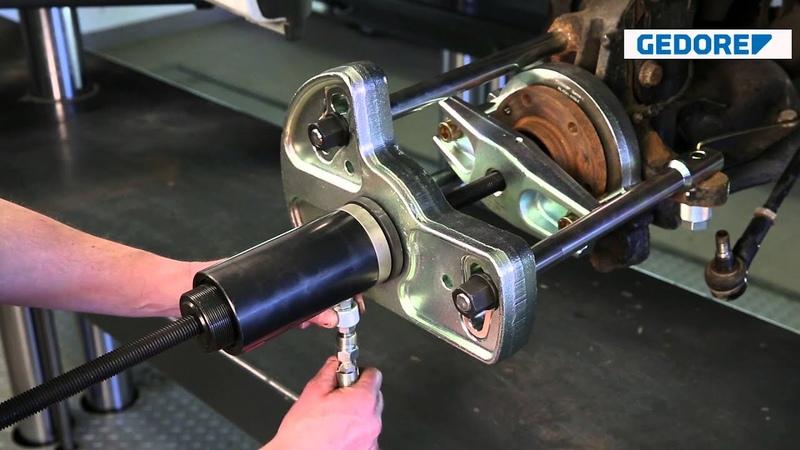 KL 0041 51 K Radlager Werkzeug MB Vito Viano Sprinter VW Crafter mit Hydraulik Zylinder 17 t