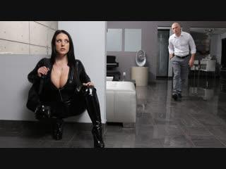 Angela white busting on the burglar () [anal, ass worship, australian, bald pussy, big ass, big tits]