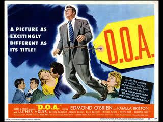(1949)  Edmond O'Brien, Pamela Britton, Luther Adler