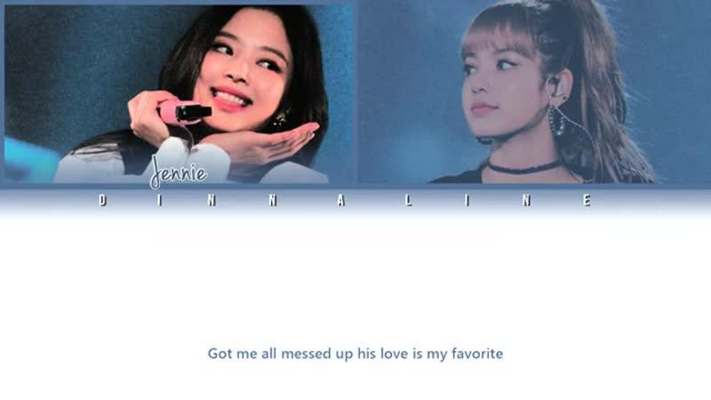 JENNIE, LISA - _봄봄_ (BOMB BOMB) (Color Lyrics Eng_Rom_Han)-1
