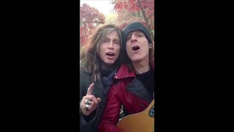 Alex Carlin and Steven Tyler