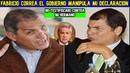 Fabricio Correa EL G0BIERN0 QUIERE MANIPULARME sobre mi HERMANO | Correa LIDERA encuestas