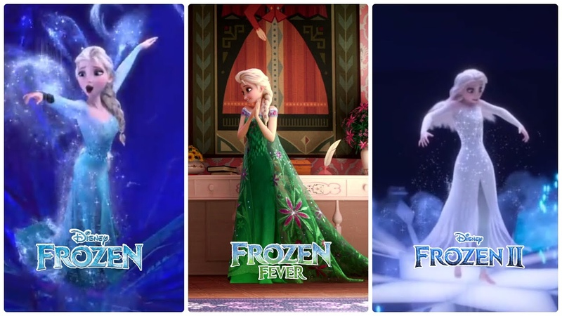 All Elsa's Dress Transformation Better Than The First