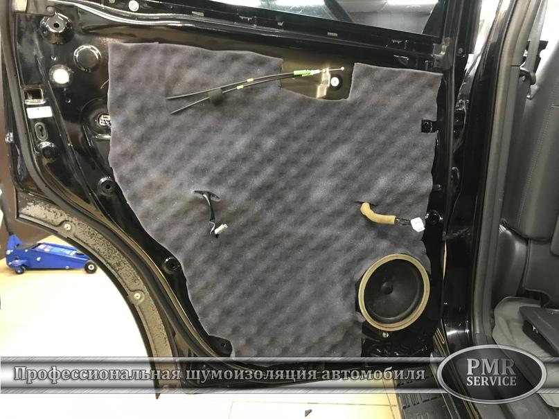 Комплексная шумоизоляция Toyota Land Cruiser 120, изображение №12