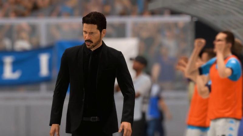 Наполи Атлетико 3 тур сезон 2020 21