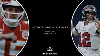 Super Bowl LV Re-Tease: Once Upon a Time, Narrated by Brad Pitt | CBS Sports