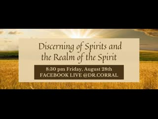 Dr. Michelle Corral Discerning of Spirits and the Realm of the Spirit