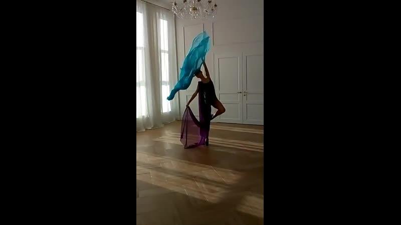 Балерина бэки со съемки