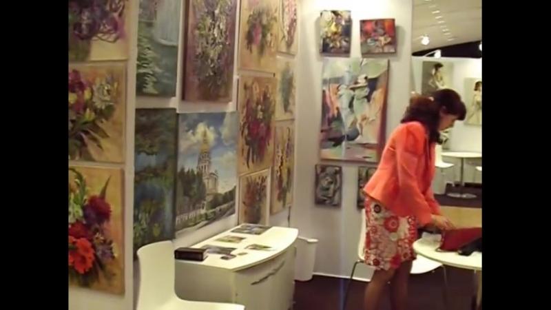 Людмила Болотская Art shopping 2014 Paris. Carrousel du Louvre