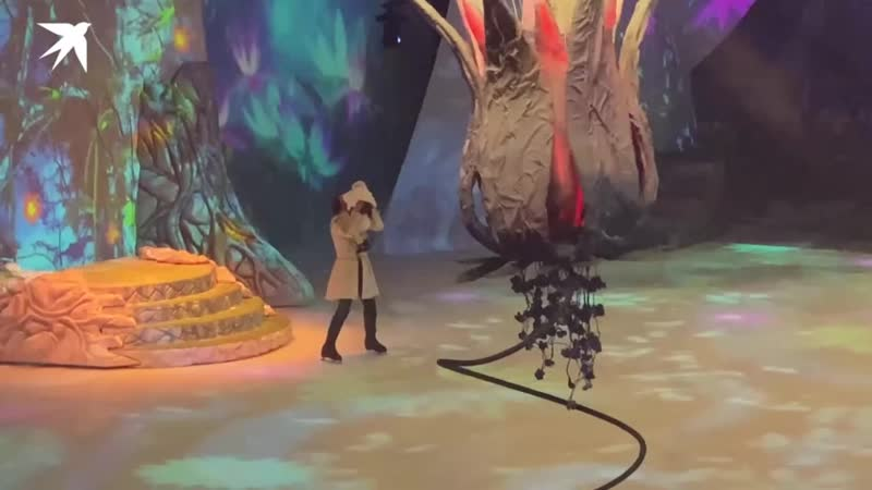годовалую дочь Анастасии Заворотнюк появиласьи на сцене во время шоу