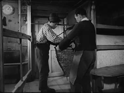 Weben von Leinentuch - Stumm Central Europe, Tyrol - Weaving of Linen Cloth - No audio - 1964