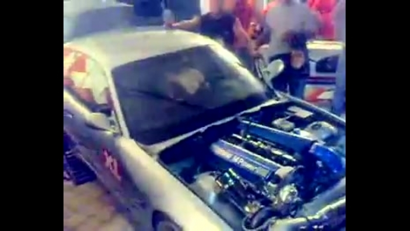 Bmw m3 turbo mani s extrenal wastegate