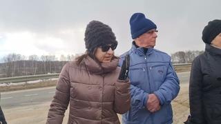 Народный сход в Домодедово против уничтожения плодородных полей.