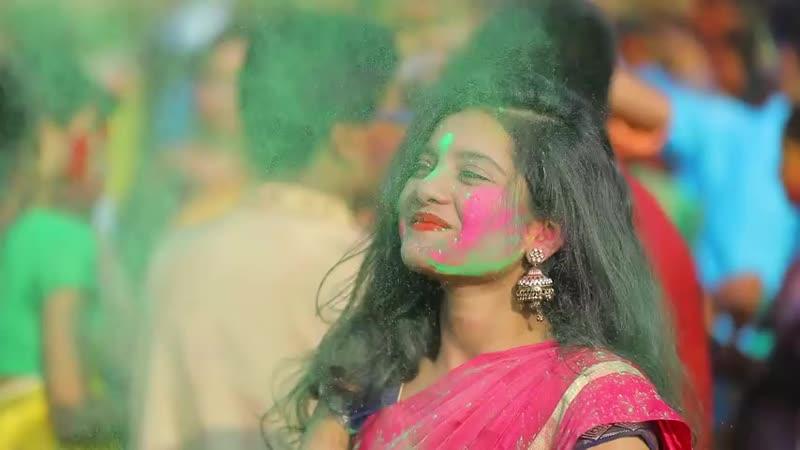 Trimmed 000 Basanta Utsav 2019 Rabindra Bharati University Amartya Saha Amos Entertainment 480 X 480 mp4