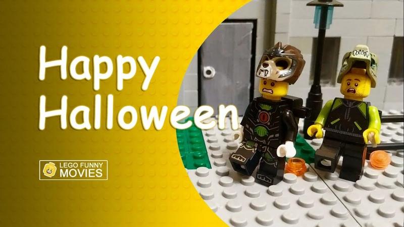 Happy Halloween Lego Funny Movies