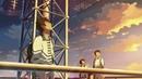 Аниме Хрустальное небо вчерашнего дня (2019) - русский трейлер/мультфильм