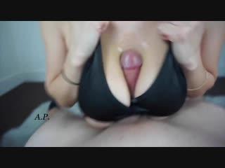 Missalexapearl - hand free tit blowjob (brazzers, порно, анал, porno, сиськи, жо