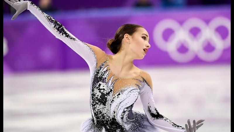 ALINA ZAGITOVA Black Swan Olympics 2018 КП с комментариями британцев