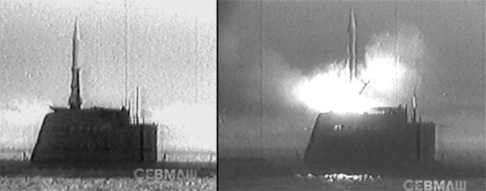 Первой в мире пуск баллистической ракеты