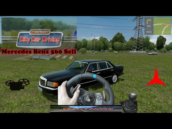 City Car Driving Mercedes Benz 560 Sel