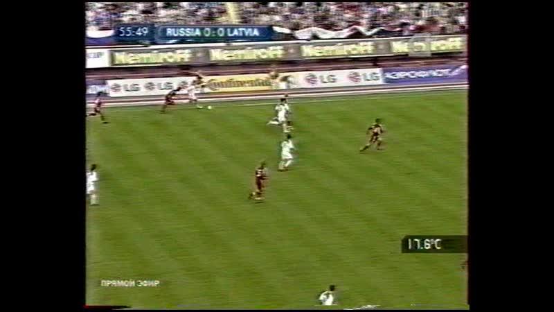 04.06.2005 сборная России - сборная Латвии Summary (отбор ЧМ-2006 (2:0)