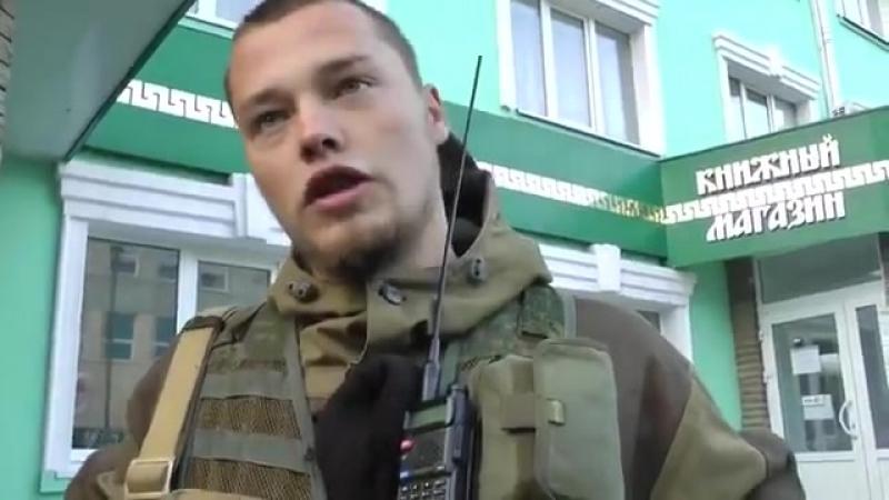 Неонацист живодер и садист Мильчаков рассказывает нам про гражданскую войну на востоке Украины