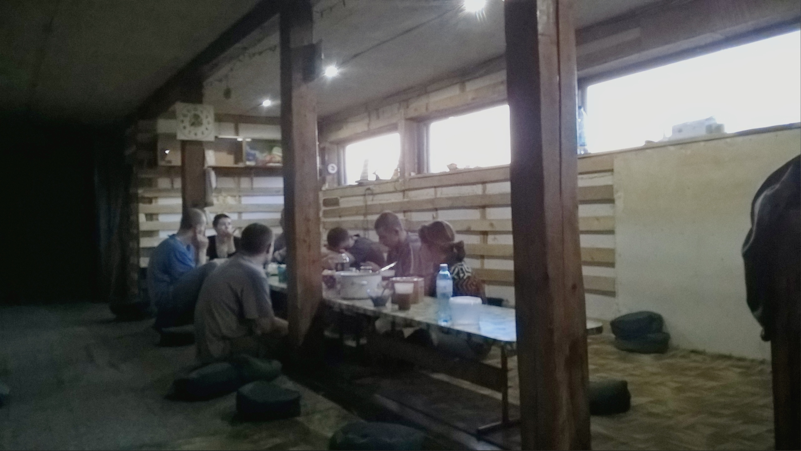 В столовой Качканарского монастыря