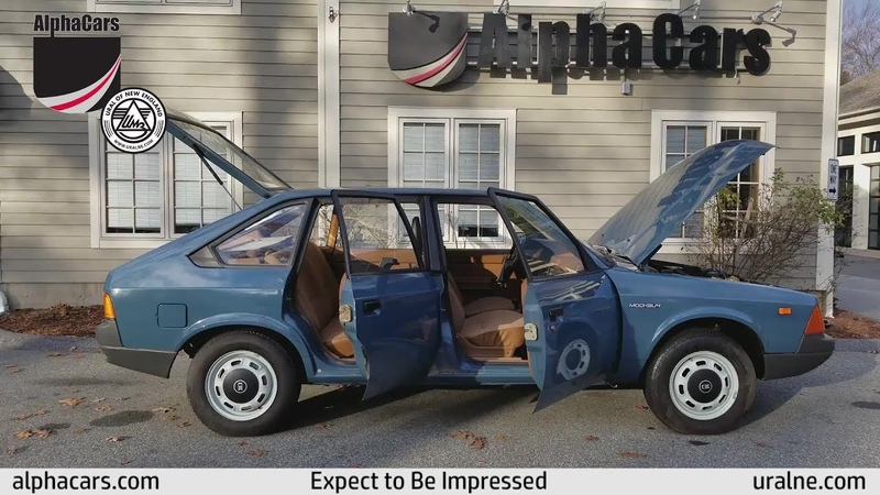 1990 Moskvitch AZLK 2141 Overview AlphaCars Ural of New England