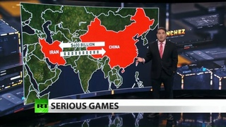 China strikes massive deal with Iran as US conducts war games (Full show)