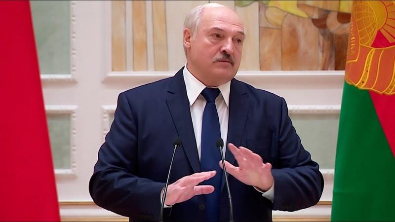 Лукашенко У меня даже волос не дрогнул Кто то думает что я сейчас собрался и свинтил