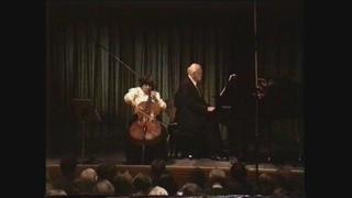 Saint-Saëns. Cello sonata №1 c-moll . Natalia Gutman - Sviatoslav Richter