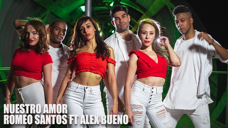 Romeo Santos Alex Bueno Nuestro Amor Marco y Sara Gaby y Estefy y Alfredo y Andrea Bachata
