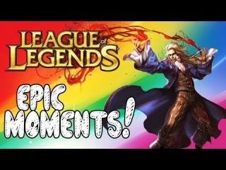League of Legends Epic Moments - Hook Kings, Super Kat, Bjergsen Outplay