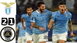🔥 Лацио - Специя 2-1 - Обзор Матча Чемпионата Италии 03/04/2021 HD 🔥