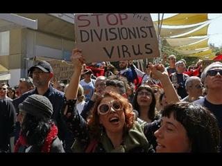Киприоты восстали против карантина, против закрытия городов и церквей, против диктатуры антихриста!