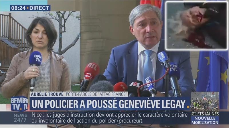 Affaire Legay ATTAC demande la démission de Castaner, du préfet et procureur de Nice (300319)
