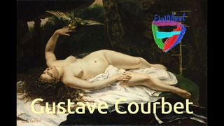 Gustave Courbet (1819-1877): Classical nude oil paintings