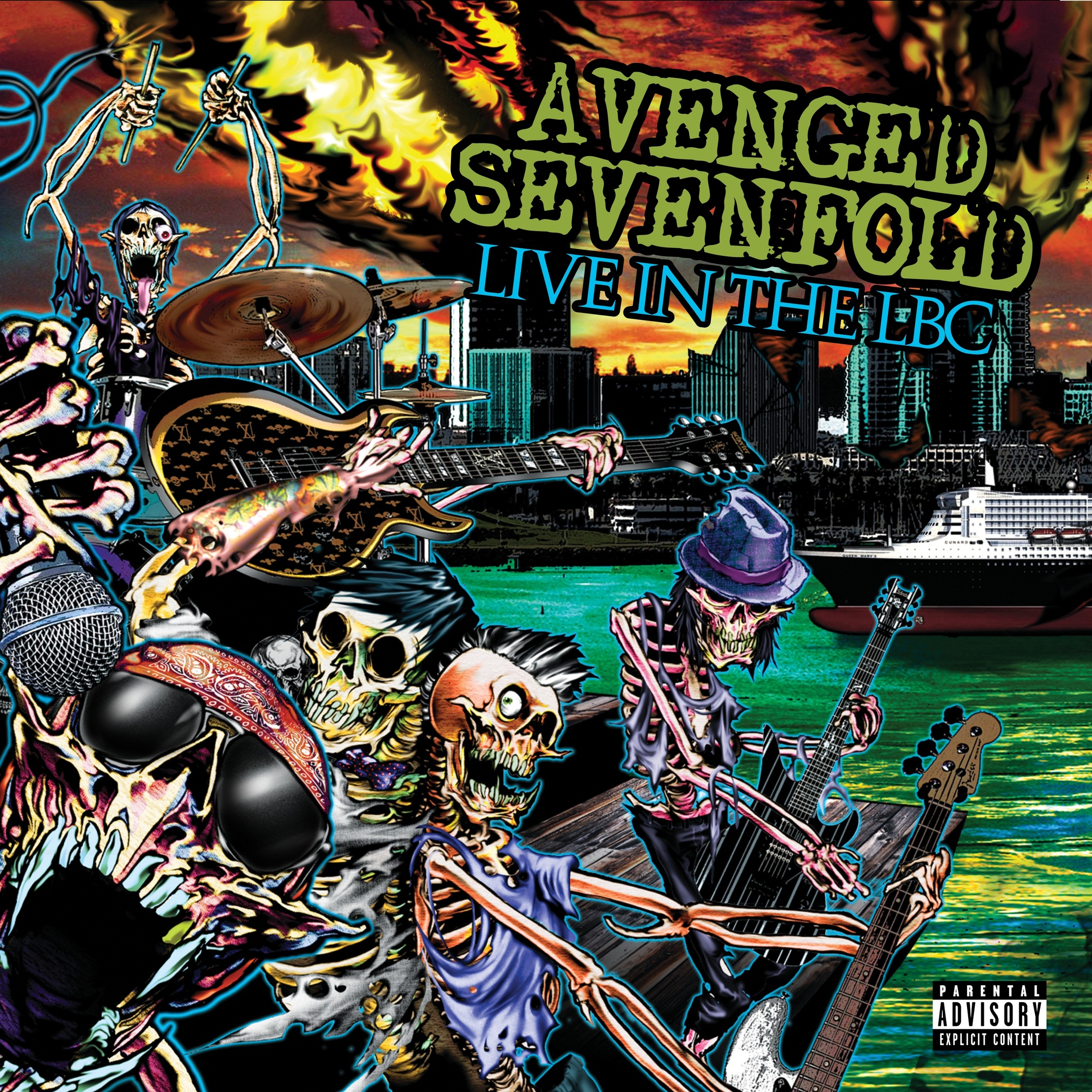 Avenged Sevenfold album Live in the LBC