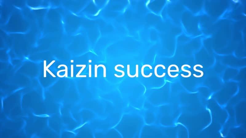Анонс моего проекта Kaizin success