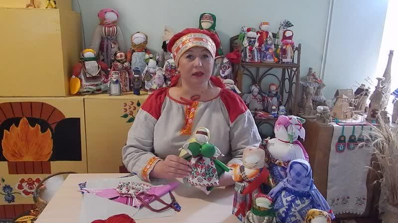 славянская обереговая кукла Капустница