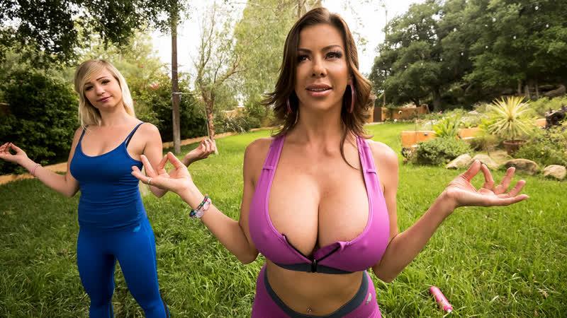 Alexis Fawx Titillating Tai Chi Brazzers, Big Tits, Blowjob, Fake Tits, Milf, Mom,