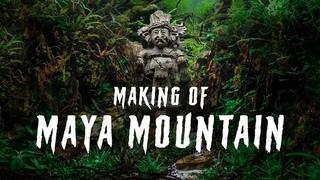 MAYA MOUNTAIN -  a Jungle Aquascaping Tutorial   Hardscape Aquascape Timelapse