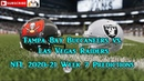 Tampa Bay Buccaneers vs Las Vegas Raiders NFL 2020 21 Week 7 Predictions Madden NFL 21